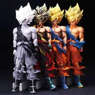 Banpresto Super Master Star Piece DragonBall Z The Son Goku [Set of 4] 30cm
