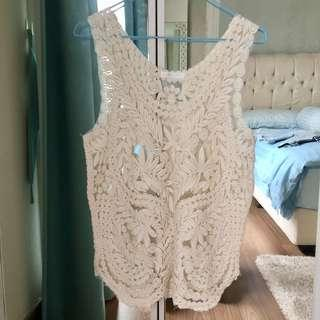 Embroidery Summer lace Top (zara look-a-like)