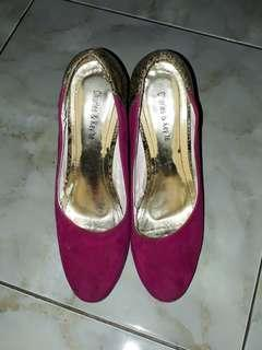 Pink Pump Shoes
