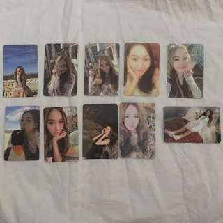 Jessica Jung With Love J Wonderland My Decade Photocards PC