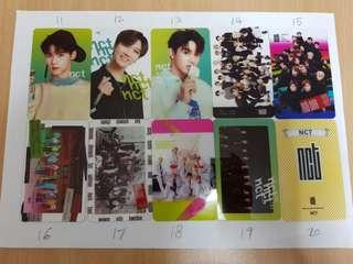 [NCT] Transparent cards