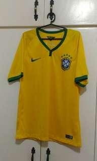 Yellow Dri-fit Shirt with Green Lining