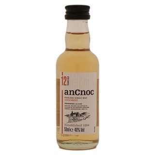 AnCnoc 12YO 50ml 酒版 miniature 蘇格蘭 威士忌 收藏 送禮