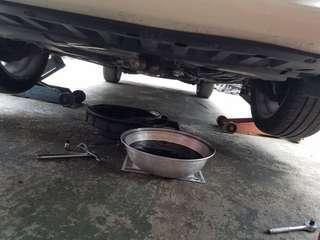 汽車上門 換油 保養 換火嘴 波箱油 油隔 洗天風 服務