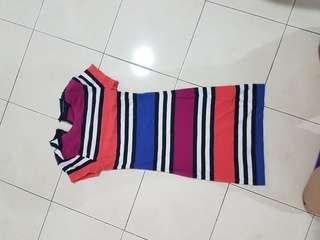 FCUK STRIPE'S DRESS #xmas25 #xmas50