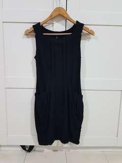 Topshop Black Dress #xmas50