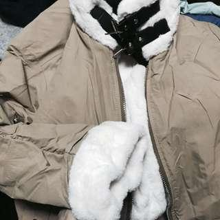 🚚 AACHIC 毛毛外套