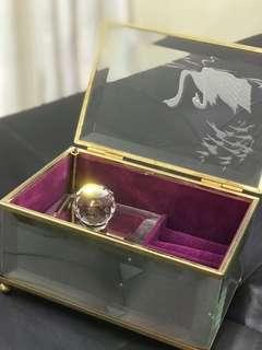 Musical Jewellery Box with Crystal
