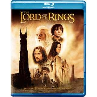 Lord of the Rings The Two Towers Bluray