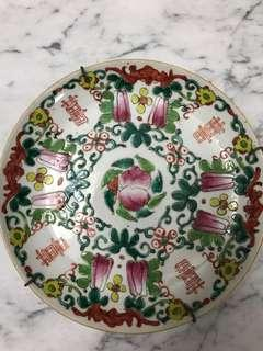 Chinese Antique wedding plate
