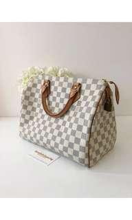 Louis Vuitton LV Classic Speedy Damier Azur 30