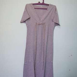 Grey dress 7/8
