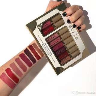 STILA Stay All Day Liquid Lipstick Set Star-Studded Eight PER BOX