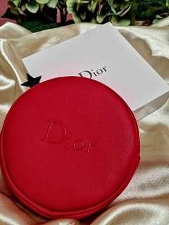 Price Reduced! 👛 Dior Beauty Round Cosmetic Pouch 💋