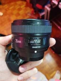 Yongnuo 35mm F2 Nikon mount