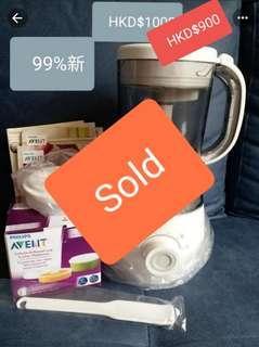 飛利浦Philip's Avent 4合1嬰兒食物處理器