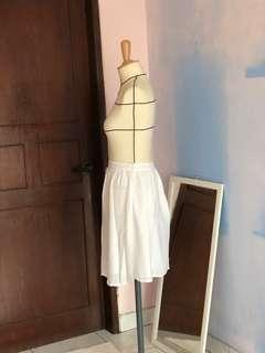 Zara white skirt