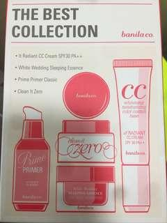 Banila co.皇牌産品4支 The best collection 禮盒