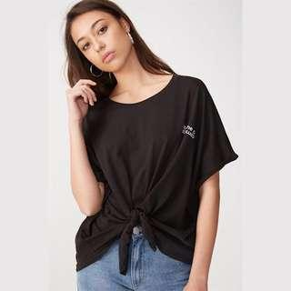 Cotton On Black Knot Graphic Tee