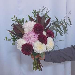 Handbouquet fresh flower