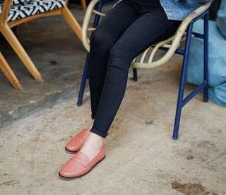 sepatu kulit Amble