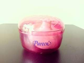 Baby Powder Puff with Powder Container