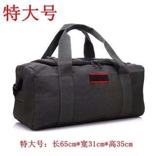 包手提装行李的包衣服帆布 单肩旅行袋女行旅包超大容量男行礼