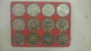 Zodiac Coin - Full set of 12