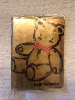 Sanrio vintage mr bear's mr bear dream 3R 細相薄