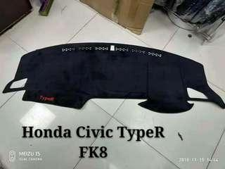 Honda TypeR  FK8 錶台防曬墊