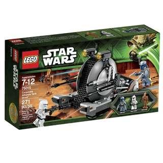 Lego Star Wars 75015 - Corporate Alliance Tank Droid Sealed new