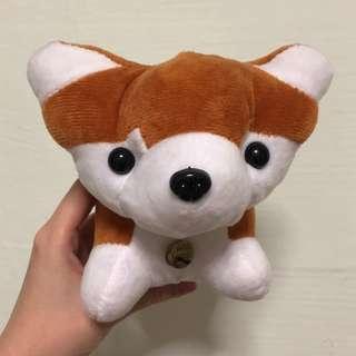 Cute dog plushie