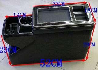 7人車升級LED款中央雜物箱
