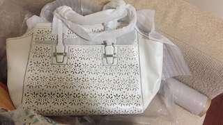 Brand new with Tag coach large leather bag