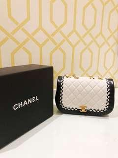 Chanel Black and White Bag