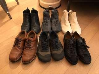 Prada/Clarks/Nike/Burberry/initial 男裝鞋 返工鞋 波鞋
