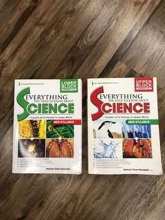 Everything You need to know about Science- Lower/Upper Block