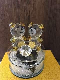 澳大利旋轉水晶熊