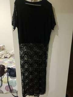 Black lace tops #XMAS50