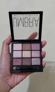 Just Miss UMBRA Eyeshadow palette - TEASE