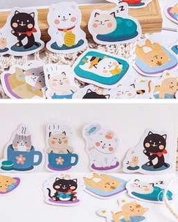 [PO] Cozy Cat Stickers