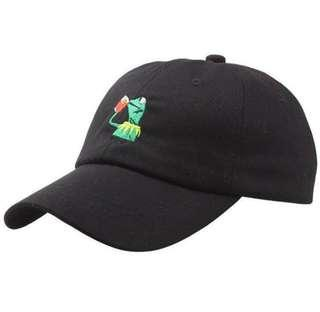 c33060edcb4 Kermit Frog Cap  Hat