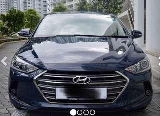 Hyundai Elantra AD- Ultra Racing bar