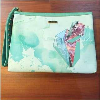 Brand New Lapalette Clutch Bag _ Wristlet