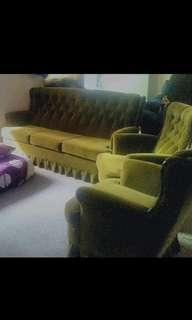 Lovely antique 3 piece lounge set