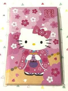 Sanrio hello kitty Sakura kimono red packets