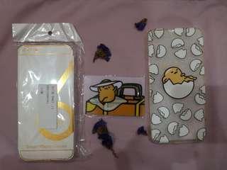 iPhone 6 Plus 6+ Phone Case -Clear & Gudetama, Gudetama Card