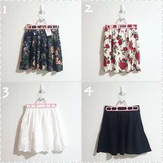 [BNWT] Skirts Galore - left 1&2