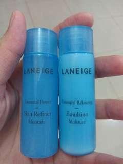 Laneige Essential Power Skin Refiner Moisture&Essential Balancing Emulsion Moisture 25 ml