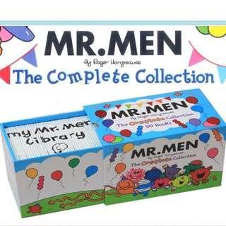 Mr Men Collection - 50 Books